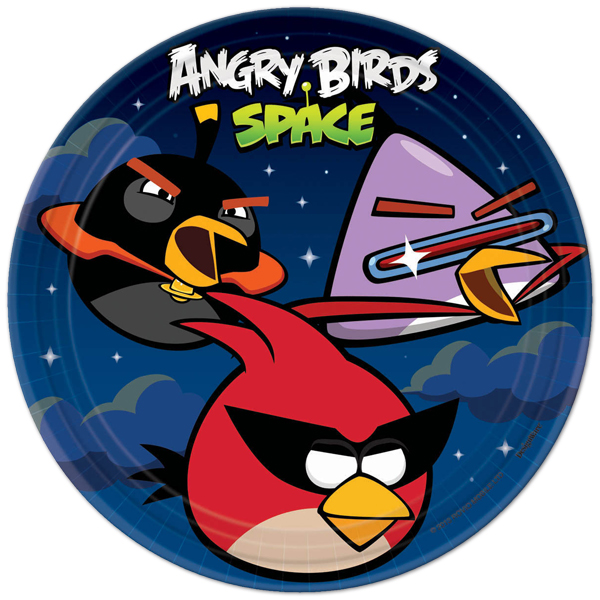 Angry Birds Space Large Plates  sc 1 st  ABC Party Supplies & Angry Birds Space : ABC Party Supplies Your One Stop Specialty ...